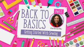 Sewing 101 Part 2 With Hochanda