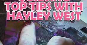 Quilting Simple Tips with Hayley West