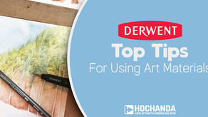 Top Tips for Using Art Materials with Hochanda and Derwent
