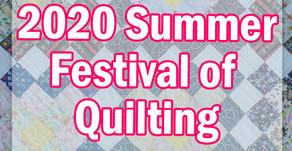 2020 Summer Festival of Quilting at Hochanda