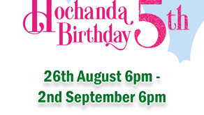 You are invited … Hochanda 5th Birthday