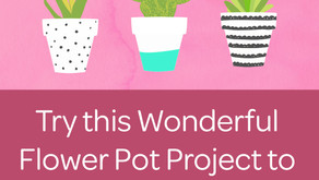 Try this Wonderful Flower Pot Project to Decorate Your Home