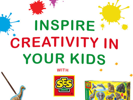 Inspire Creativity in Your Kids with SES Creative!