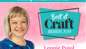 Leonie Pujol Wins Crafting Woman of The Year