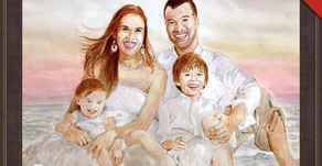 CUSTOM PORTRAIT PAINTING AS A PART OF YOUR ROOM DECOR