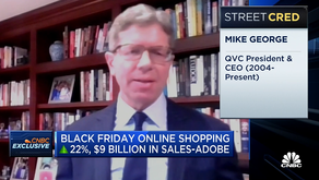 QVC parent CEO Mike George on accelerating online shopping trends and Cyber Monday
