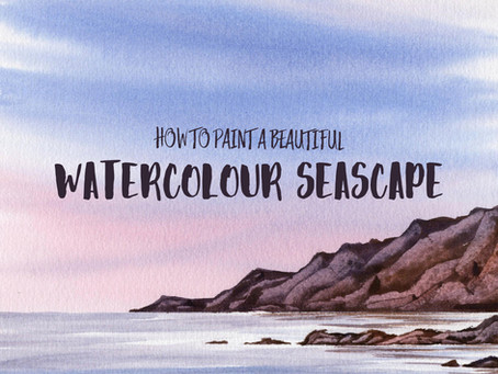 How to Paint a Beautiful Watercolour Seascape