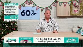 Sewing Quarter to Close