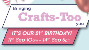 A Big Birthday for Crafts Too!