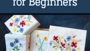 Embroidery Tips For Beginners