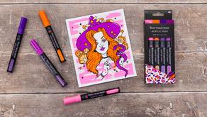 Spectrum Noir launches new Acrylic Paint markers