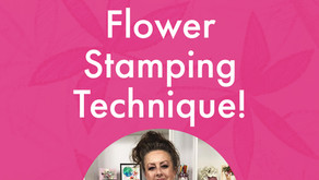 Unmissable Flower Stamping Technique