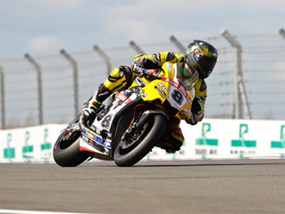 British Superbike Rider, Shaun Winfield in partnership with Europoint.