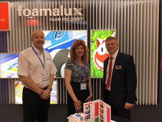Europoint materials experts attended FESPA 2018