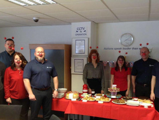 Red Nose Day at Europoint Manchester