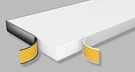 Viscom Edge protecting self adhesive trip