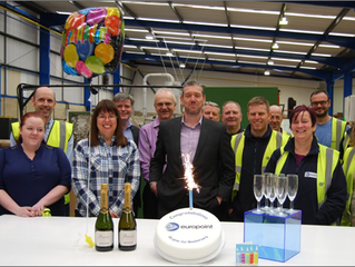 Europoint celebrate their 1st Year Anniversary
