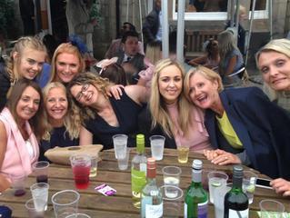 Ladies Day race meet at Musselburgh Race Course, Edinburgh.