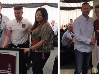 Europoint were match sponsors at Northampton Town FC at the weekend playing Plymouth Argyle.