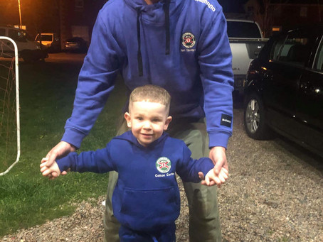 2 super models from Bangor, Colton Carlin and Neil Thompson showing off the latest NIFSA attire