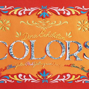 COLORS(Exhibition DM)