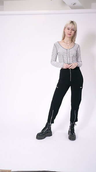 Zip Track Pants