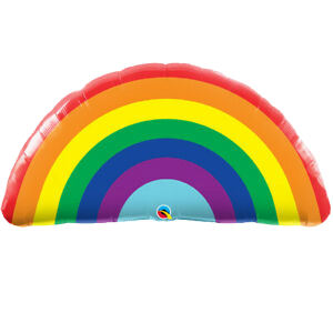 Rainbow Supershape Balloon