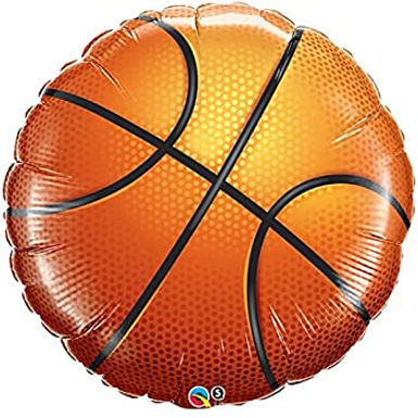 Basketball Supershape Balloon