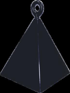 Black Pyramid Balloon Weight