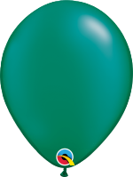 "Pearl Emerald Green 11"" Latex Balloon"