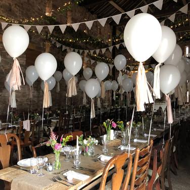 Rustic Wedding table decoration