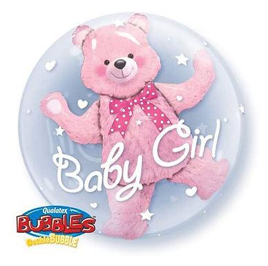 Baby Girl Double Bubble Balloon