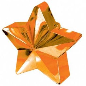 Orange Star Balloon Weight