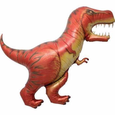 "T-Rex 43"" Supershape Foil Balloon Helium Filled"
