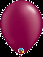 "Pearl Burgundy 11"" Latex Balloon"