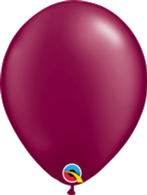 "Pearl Burgundy 11"" Latex Balloon"