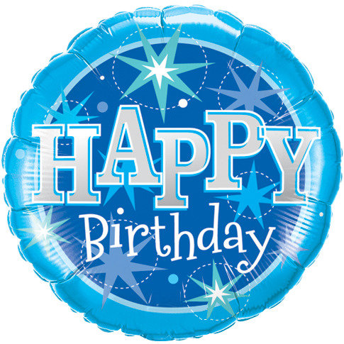36 inch Happy Birthday Balloon