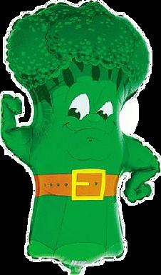 "Broccoli 34"" Foil Balloon"