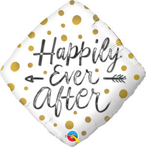 "Happily Ever After 18"" Foil Balloon"