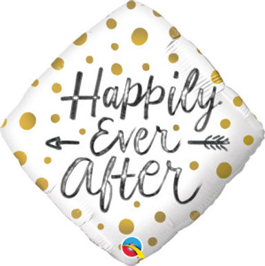 """Happily Ever After 18"""" Foil Balloon"""