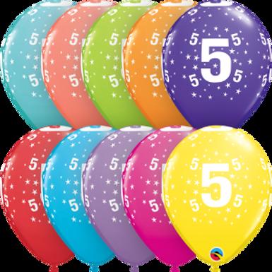 "Stars #5-A-Round 11"" Retail Pack"