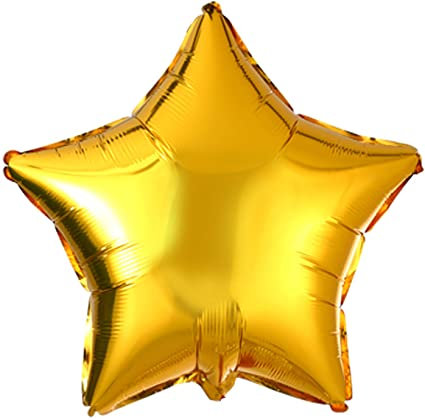Gold 18 inch Star Foil Balloon