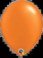 "Pearl Madarin Orange 11"" Latex Balloon"