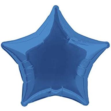 Dark Blue 18 inch Star Foil Balloon
