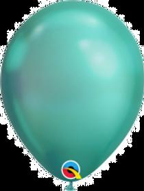 """Chrome Green 11"""" Latex Balloon"""