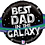 """Thumbnail: Best Dad In The Galaxy 31"""" Foil Balloon"""