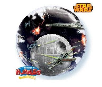 "Star Wars Death Star 24"" Double Bubble Balloon"