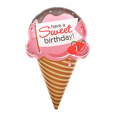 Have a Sweet Birthday Supershape Balloon