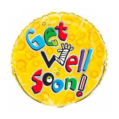 "18"" Get Well Soon Foil Balloon"