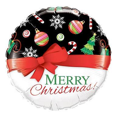 Merry Christmas 18 inch Foil Balloon